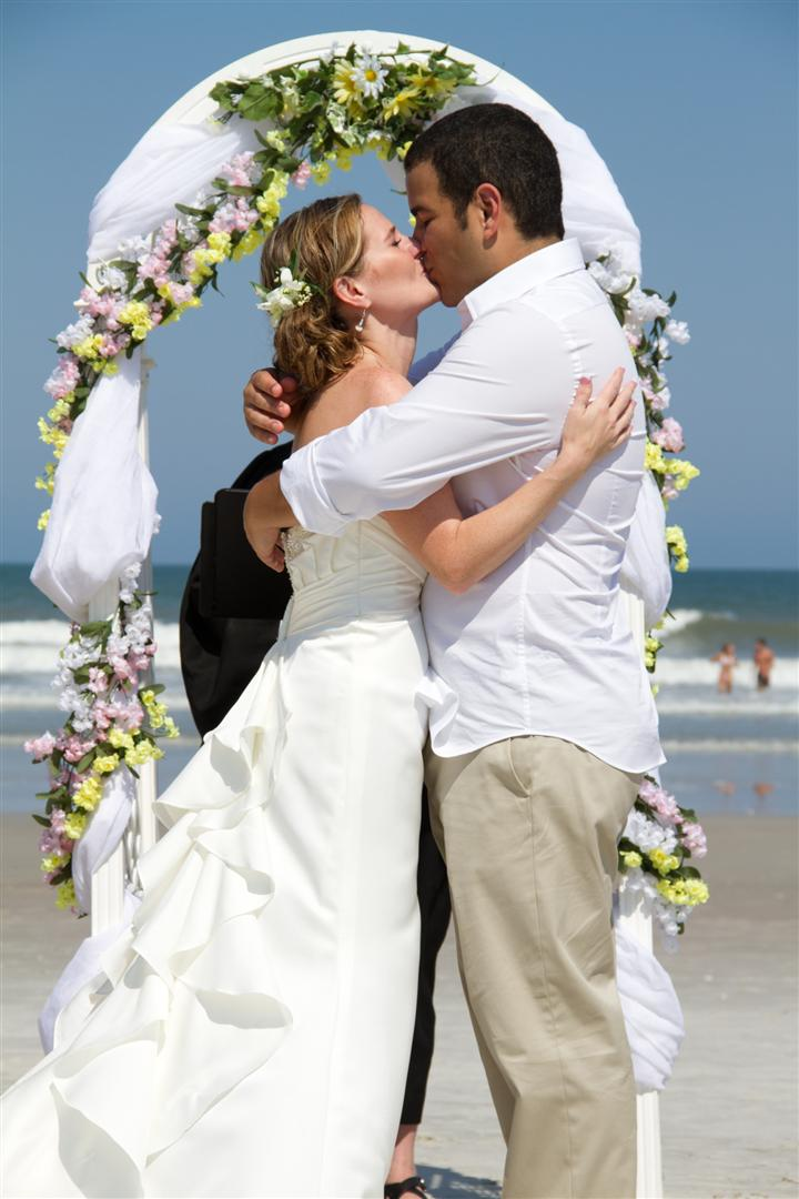Sam and Christina got married on the beach and I was happy to be their photographer for them.  They are a wonderful couple and the entire day was a great celebration.