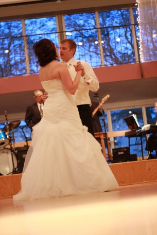 I traveled to Nebraska to join Allen and Bethany on their wedding day.  It was a wonderful night.