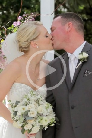 I recently filmed and edited the wedding for this fun couple.