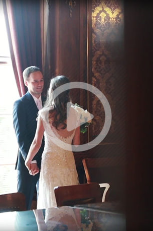 I love getting to travel to new places to participate in a wedding. This wedding was held right in the capital building of Madison, Wisconsin. Since Madison was such a big part of who this couple was, I tried to incorporate the city's vibe into the video itself, and I love how it turned out!